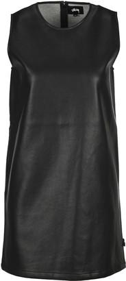 Stussy Faux Leather Mini Dress