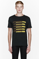 Marc by Marc Jacobs Green & Yellow America Flag print t-shirt