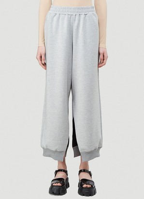 MM6 MAISON MARGIELA Slit Wide-Leg Sweatpants