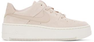 Nike Pink Air Force 1 Sage Sneakers
