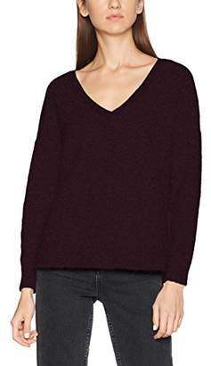 Selected Women's Sflivana Ls Knit V-Neck Noos Jumper,36 (Size: Small)