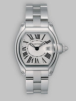 Roadster Stainless Steel Small Bracelet Watch/White