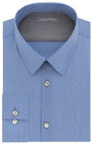 Calvin Klein Striped Extreme Slim-Fit Cotton-Blend Dress Shirt