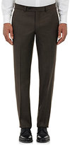 Barneys New York MEN'S SHARKSKIN TROUSERS