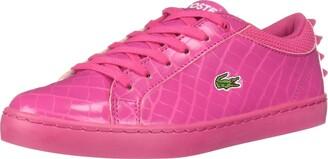 Lacoste Unisex-Kids Straightset Croc Spikes Sneaker