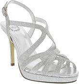 JCPenney I. MILLER I. Miller Fatemah Cross-Strap High Heel Platform Sandals