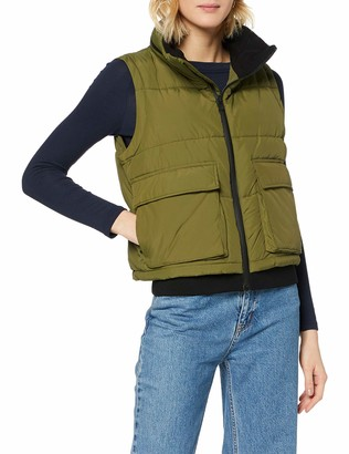 Superdry Women's Ls Essentials Padded Gilet Outdoor