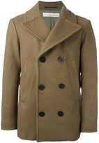 Golden Goose Deluxe Brand classic peacoat - men - Polyester/Cupro/Triacetate/Wool - S