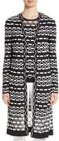 St. John Women's Textural Wave Knit Cardigan