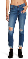 Fidelity Stevie Mid Rise Tapered Crop Jean