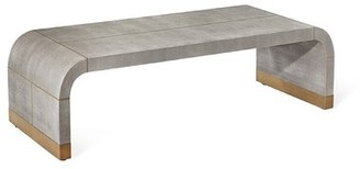 """Interlude Sutherland Sled Coffee Table Size: 16"""" H x 52"""" L x 32"""" W"""
