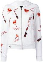 Philipp Plein Power hoodie - women - Cotton/Spandex/Elastane - M