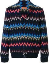 Missoni zig-zag embroidered cardigan