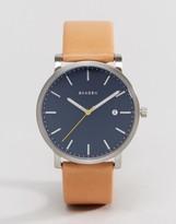 Skagen Hagen Quartz Leather Watch In Tan 40mm