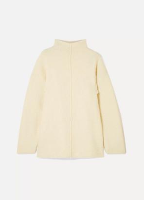 By Malene Birger Hejla Merino Wool-blend Sweater - Cream