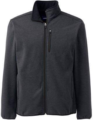 Lands' End Big & Tall Marinac Windproof Fleece Jacket