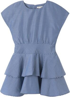 Habitual Kids Kids' Danni Dropwaist Peplum Dress