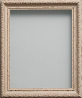 Brompton Frame Company Range A4 Shabby Chic Picture Photo Frame, Vintage Cream