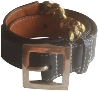DSQUARED2 Blue Leather Belts