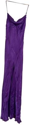 ATTICO Purple Silk Dresses