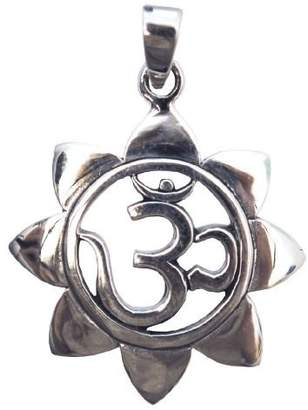 Saraswati Unisex Silver Pendant Only - AS524