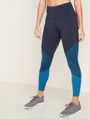 Old Navy High-Waisted Elevate Color-Blocked Compression Leggings for Women