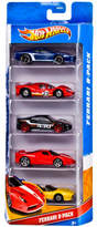 Hot Wheels by Mattel 5 Car Gift Pack