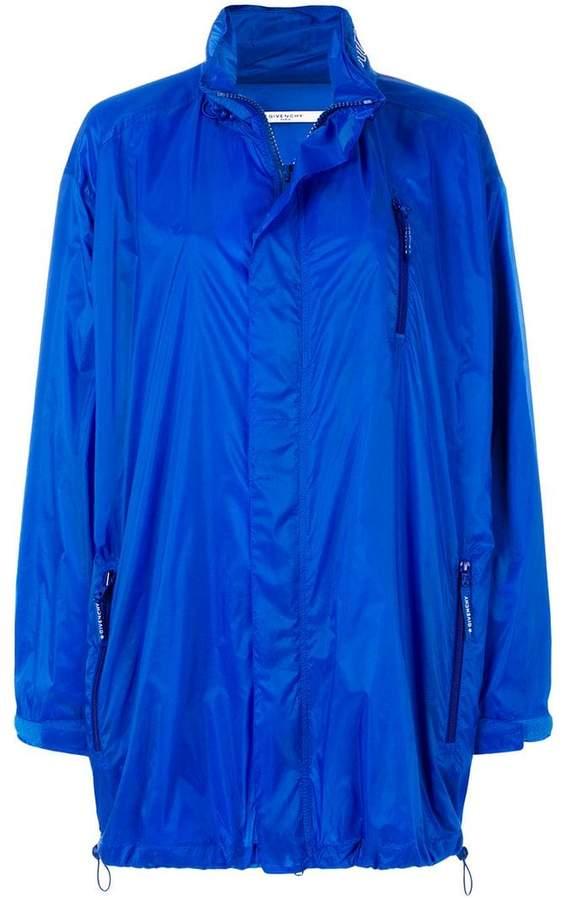 Givenchy long line oversized coat