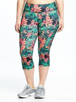 Old Navy High-Rise Plus-Size Compression Crops