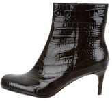 Kate Spade Patent Leather Ankle Boots