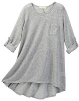 Soprano Long Sleeve Hi-Lo Knit Tunic (Big Girls)