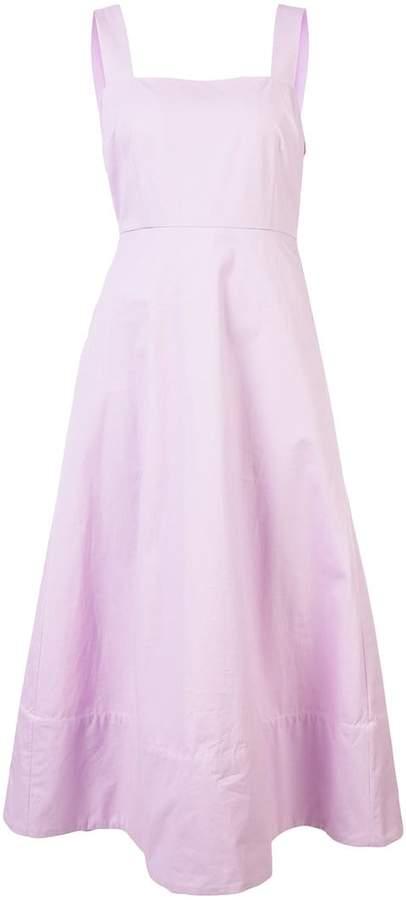 Co long flared dress