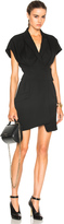 Alexandre Vauthier Japanese Crepe Blazer Dress
