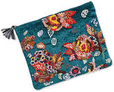 Steve Madden Ginger Clutch with Floral Embroidery