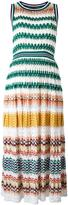 Missoni striped dress - women - Silk/Cotton/Polyester/Viscose - 42