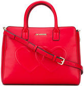 Love Moschino heart tote - women - Polyurethane - One Size