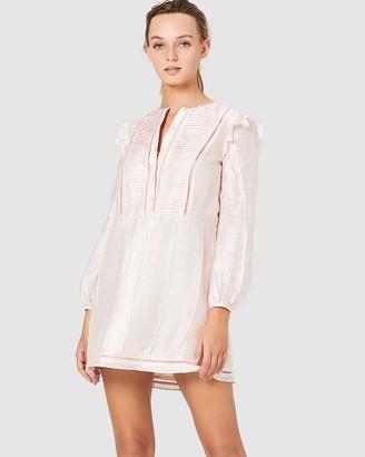 Stevie May Sunday Morning Long Sleeve Mini Dress