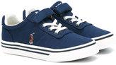 Ralph Lauren lace-up sneakers - kids - Canvas/rubber - 19
