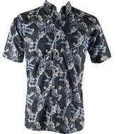 Pendleton Men's Camp Shirt in Authentic Spooner Kloth Seahorse Pri