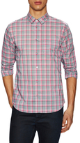 Marc by Marc Jacobs Woven Checkered Shrunken Fit Sportshirt