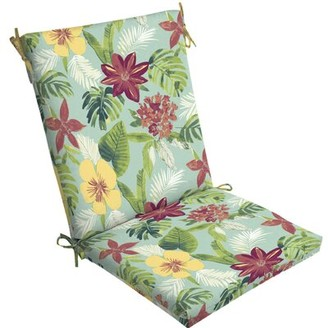 Tropical Outdoor Lounge Chair Cushion Bayou Breeze