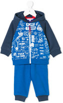 Little Marc Jacobs printed tracksuit set