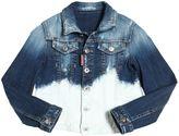 DSQUARED2 Bleached Stretch Denim Jacket
