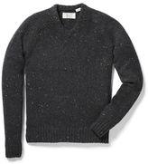 Original Penguin Saddle Raglan Donegal Jersey V-Neck Sweater