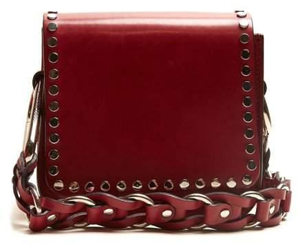 Isabel Marant Minza mini embellished leather cross-body bag