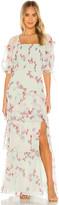 Amanda Uprichard Florentina Maxi Dress