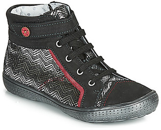 Catimini ROSIERE girls's Shoes (High-top Trainers) in Black