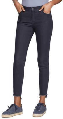 Lafayette 148 New York Plus Size Mercer Primo Denim Step-Hem Ankle Jeans