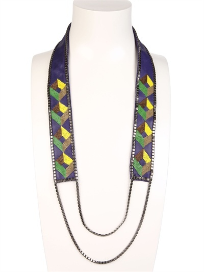 Fiona Paxton Susa Long Beaded Necklace
