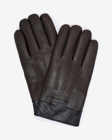 Leather Shearling Lining Gloves